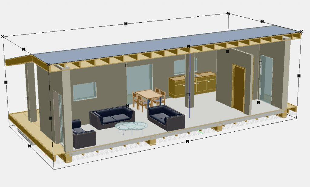 ecologisch bouwen aan een Tiny House