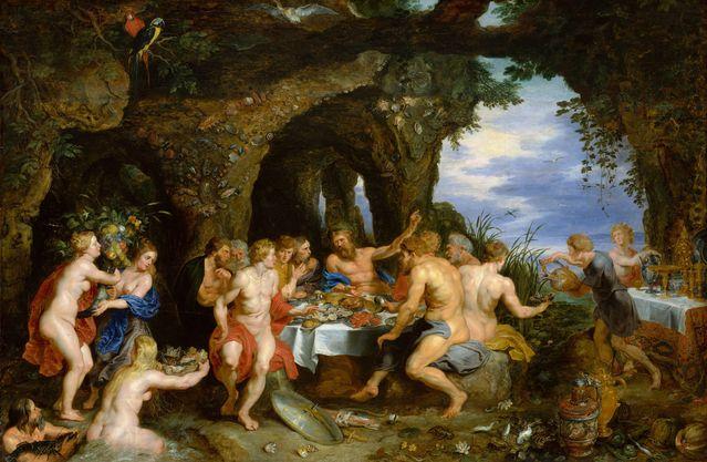 De tuin van Epicurus volgens Rubens