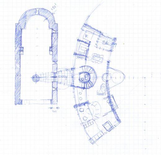 restauratie, renovatie, monument, zuid frankrijk